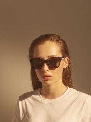 A.Kjaerbede Gigi Sunglasses in Tortoise