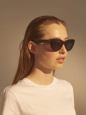 A.Kjaerbede Stella Sunglasses Black