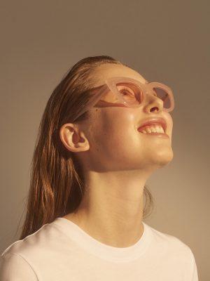 A.Kjaerbede Stella Sunglasses Peach