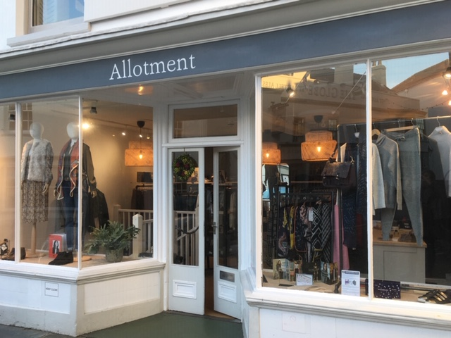 Allotment Womenswear Store Topsham