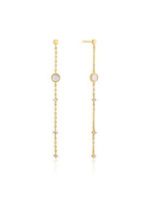 Ania Haie Mother of Pearl Drop Earrings
