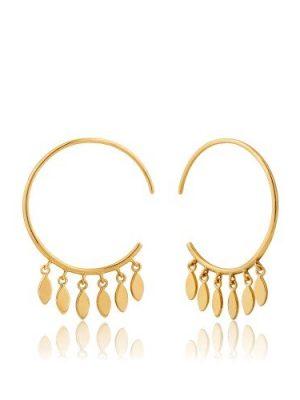 Ania Haie Multi-drop hoop earrings