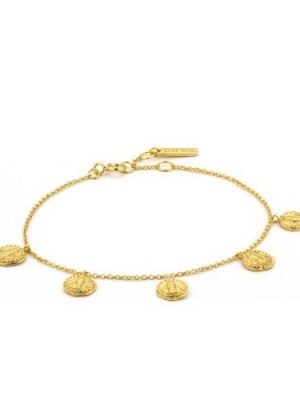 Ania Haie gold Deus bracelet