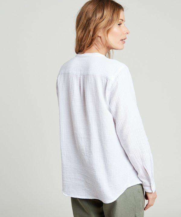 Hartford Carta Shirt white 3