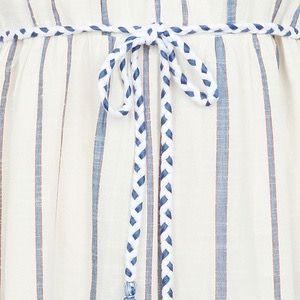 MKT Ropa Dress Blue Stripe