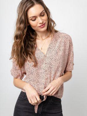 Rails Thea rose spot blouse 1