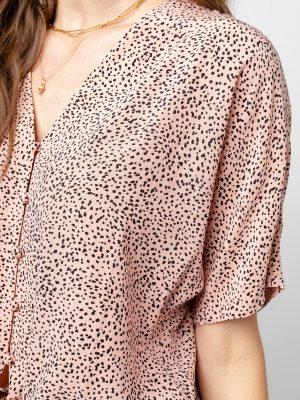 Rails Thea Top Rose Spotted