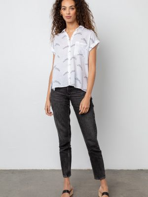 Rails Whitney cheetah blouse 1