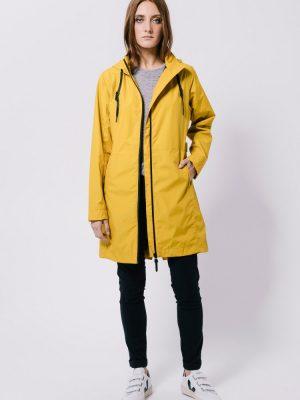 Tanta Ura mustard coat