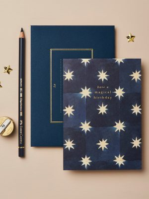 Wanderlust Navy Stars Magical Birthday