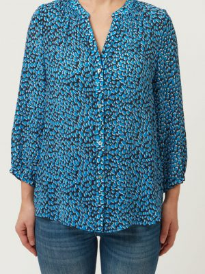 Allie and Grace Arlo Blouse Blue