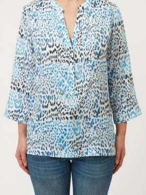 Allie and Grace Zeke blouse 2