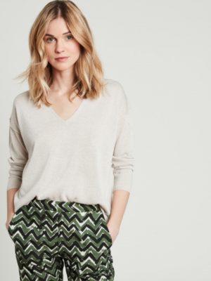 Hartford Mimosa Lurex sweater 1