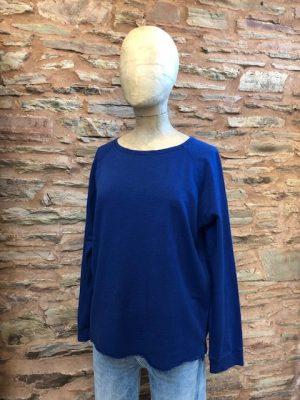 Hartford Tarael sweatshirt cobalt blue 1