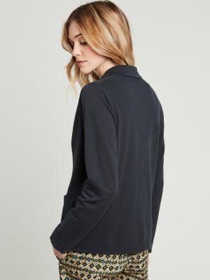 Hartford Ting Cotton Jacket Charcoal