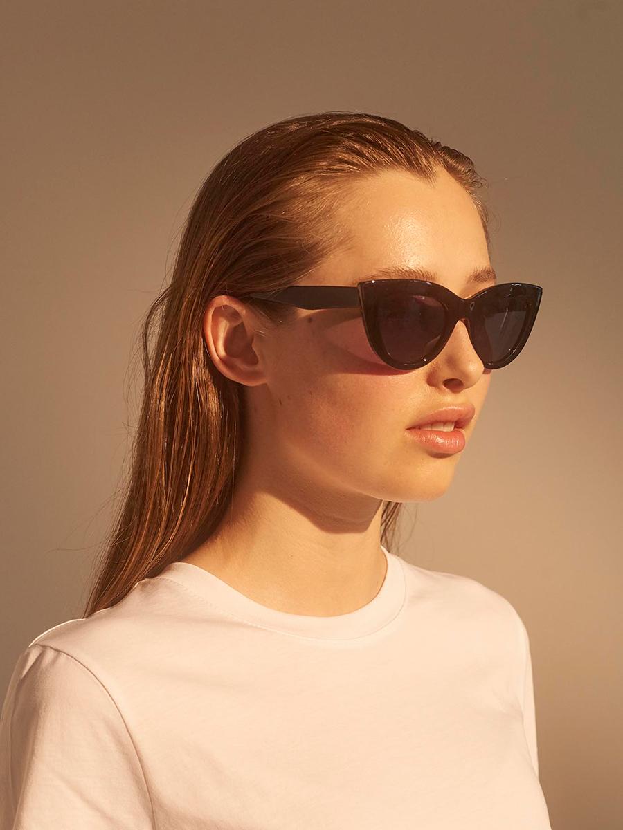 Leanne's Picks - A.Kjaerbede Sunglasses Stella Black