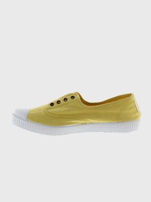 Victoria Plimsolls Yellow