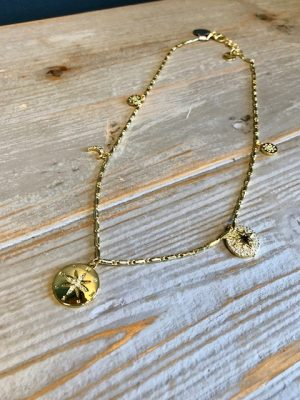 Golden Compass charm necklace 2