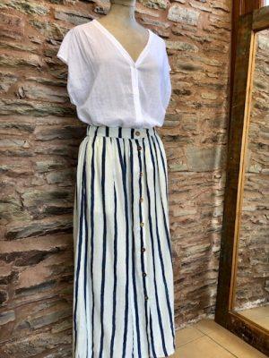 Hartford Justa Skirt Blue 1