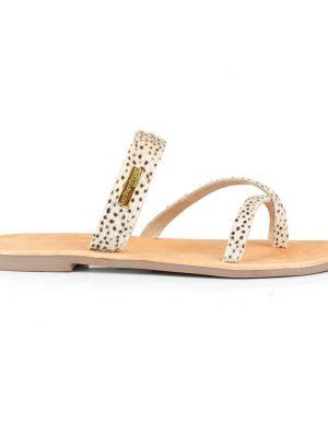 Les Tropeziennes Sandals Black and White