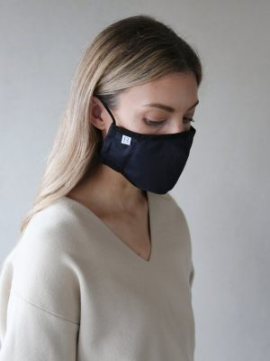 Breathe and Protect Adult Navy mask