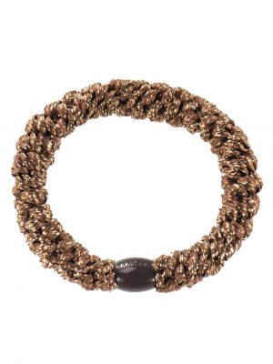 Bon Dep Hair Tie Bronze Glitter