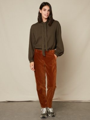 Hartford Charline Shirt with Bow