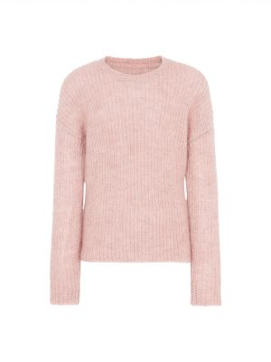 Hartford Madelie Mohair Sweater Pink 1
