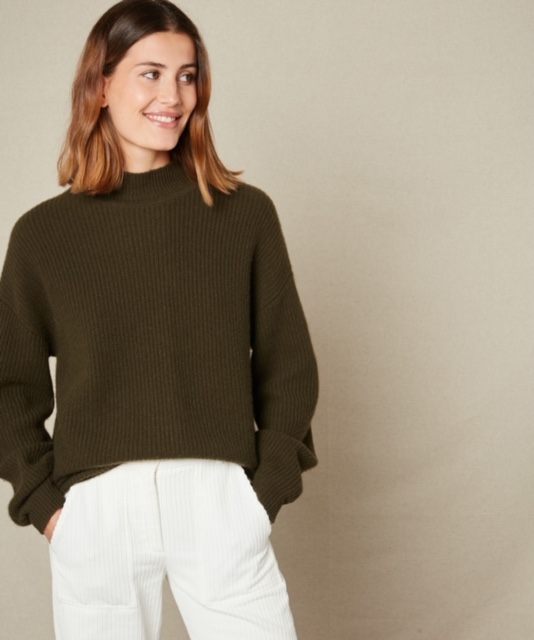 Hartford Malea Sweater Army 1