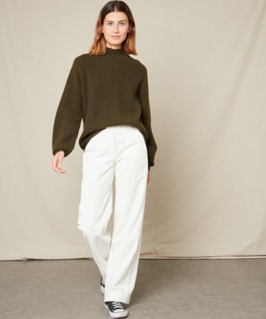 Hartford Malea Sweater Army 2