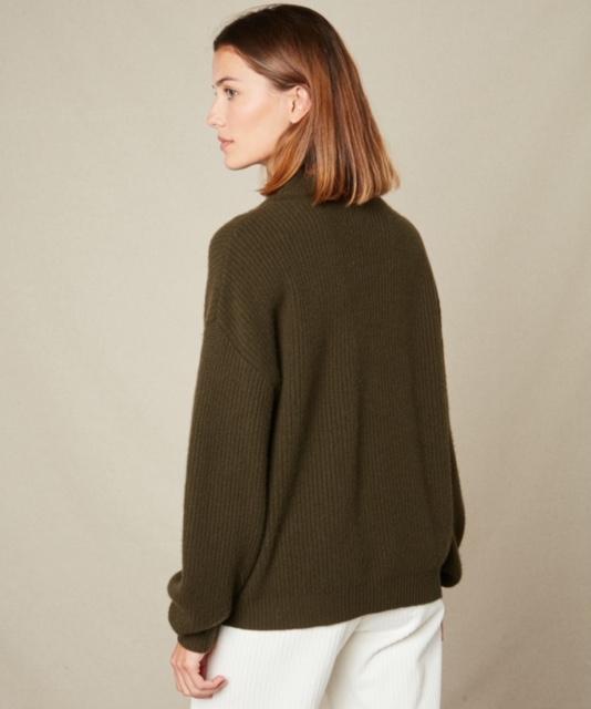 Hartford Malea Sweater Army 3