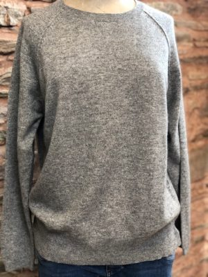 Jumper 1234 Stitch Sweat Mid grey 1