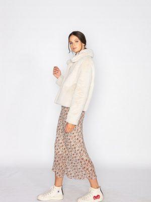 Jeff Fur jacket snow 2