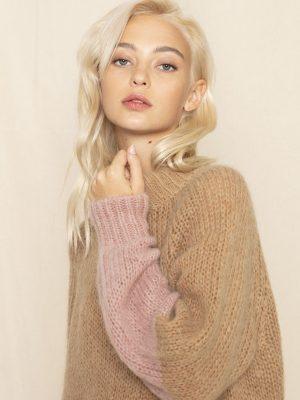 Jeff Muji BiColour Sleeve Sweater 1