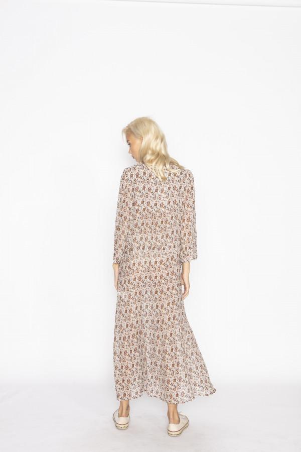 Jeff Printed Long Dress 3