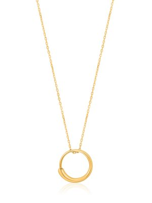 Ania Haie Gold Luxe Circle Necklace