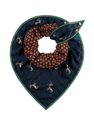 Pom Amsterdam Double Carousel Ride Scarf 1