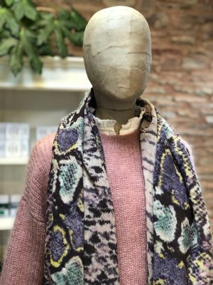 Allotment Capsule Collection Snake Print Scarf