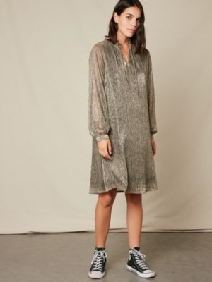 Hartford Lurex Rummy Dress 1