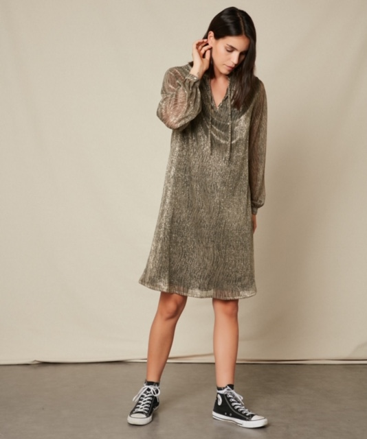 Hartford Lurex Rummy Dress 2