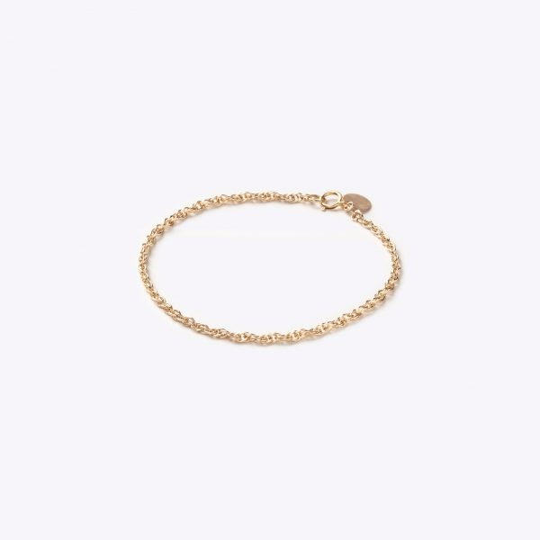 Wanderlust Life Dali Gold Layering Chain Bracelet 1