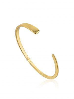 Ania Haie Geometry Flat Cuff Gold 1