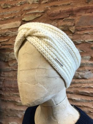 Rino and Pelle Knitted Headband Snow White