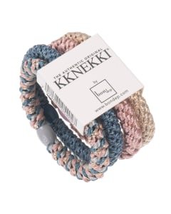on Dep Hair Tie Multi Pack Dusty Rose and Blue