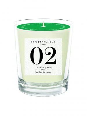 Bon Parfumeur Candle No 2 Glass