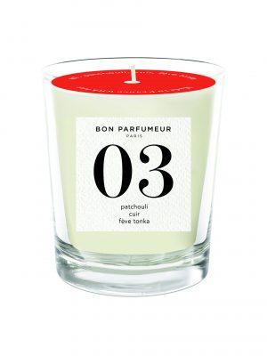Bon Parfumeur Candle No 3 Glass