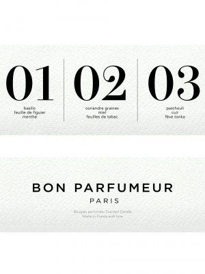 Bon Parfumeur Mini Candle Set: 01,02,03