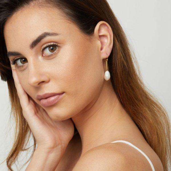 Ashiana Margot Pearl Drop Earrings 2