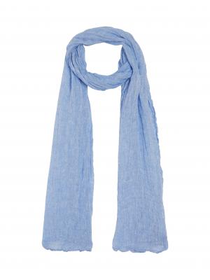 Hartford Blue linen scarf 1