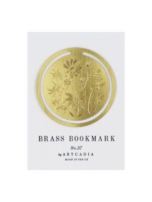 Botanical round bookmark 1